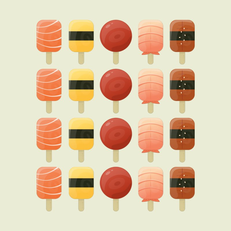 Creamsicles of Nigiri by MykoWu's Artist Shop