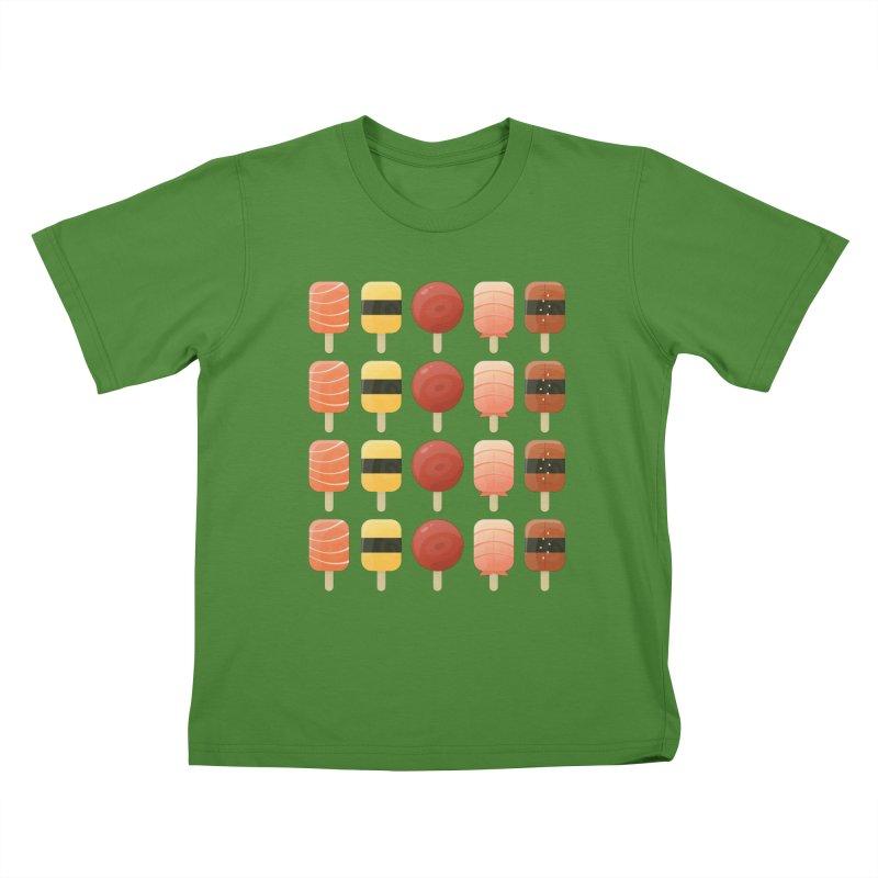 Creamsicles of Nigiri Kids T-shirt by MykoWu's Artist Shop