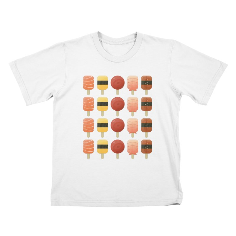 Creamsicles of Nigiri Kids T-Shirt by MykoWu's Artist Shop
