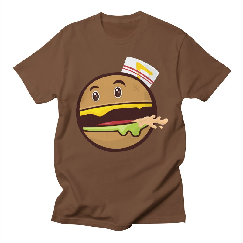 Burger Animal Men's T-shirt by MykoWu's Artist Shop