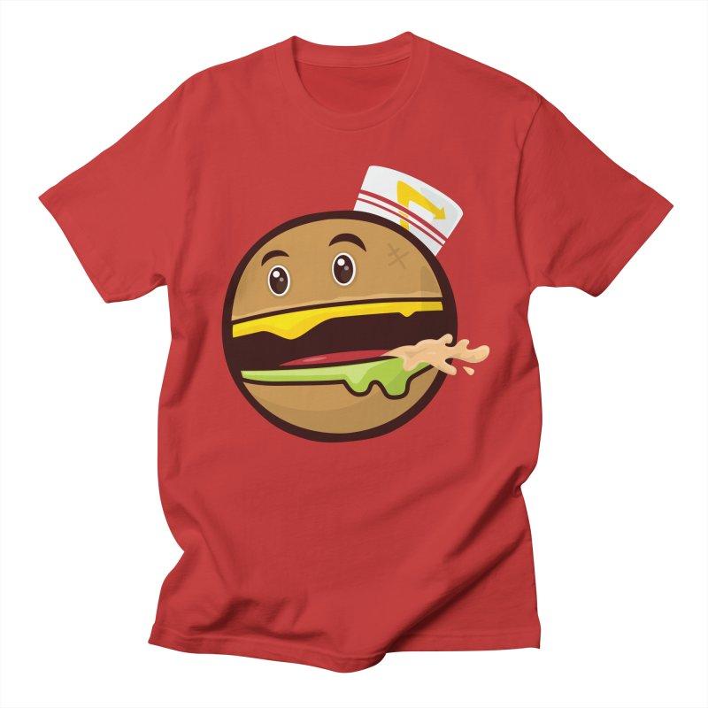 Burger Animal Men's T-Shirt by MykoWu's Artist Shop