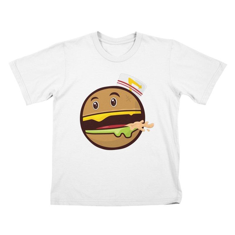 Burger Animal Kids T-Shirt by MykoWu's Artist Shop