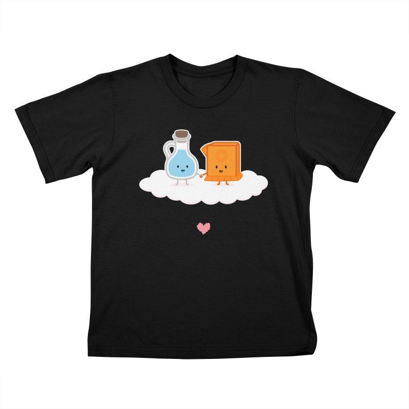Love, Vinegar, and Baking Soda Kids T-shirt by MykoWu's Artist Shop