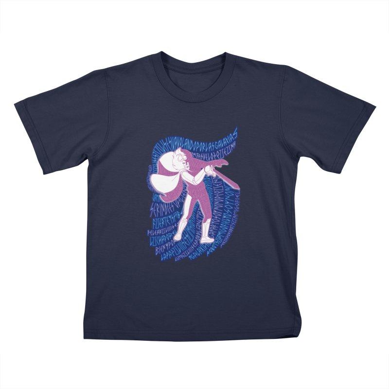 Ulises 31 Kids T-shirt by mymadtshirt's Artist Shop