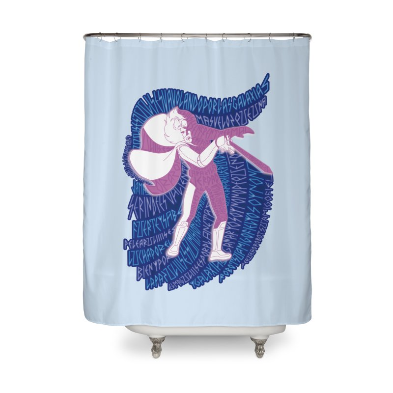 Ulises 31 Home Shower Curtain by mymadtshirt's Artist Shop