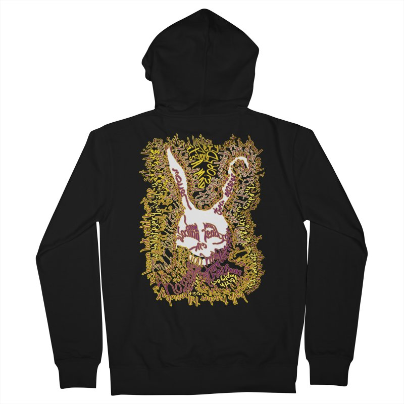 Mad World Women's Zip-Up Hoody by mymadtshirt's Artist Shop