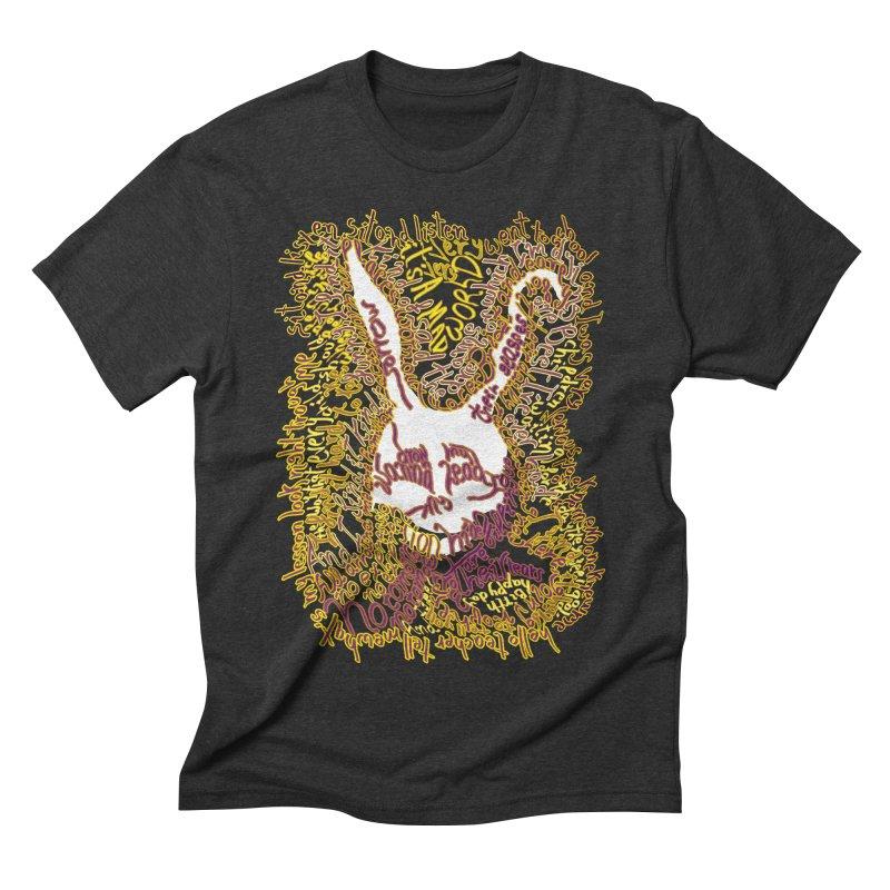 Mad World Men's Triblend T-shirt by mymadtshirt's Artist Shop
