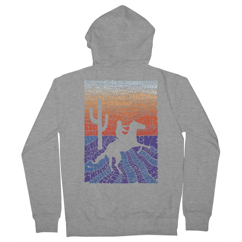 A Horse with No Name Women's Zip-Up Hoody by mymadtshirt's Artist Shop