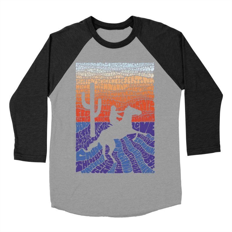 A Horse with No Name Women's Baseball Triblend T-Shirt by mymadtshirt's Artist Shop
