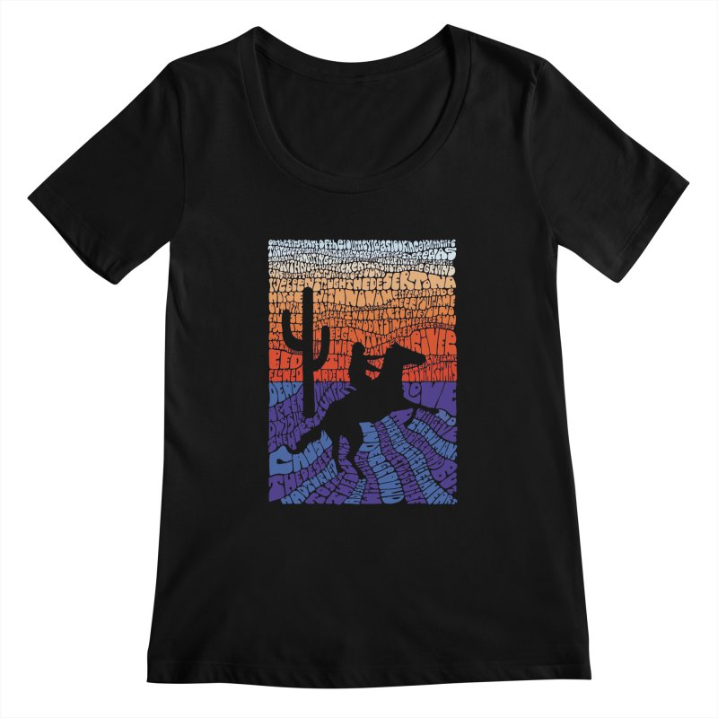 A Horse with No Name Women's Scoopneck by mymadtshirt's Artist Shop