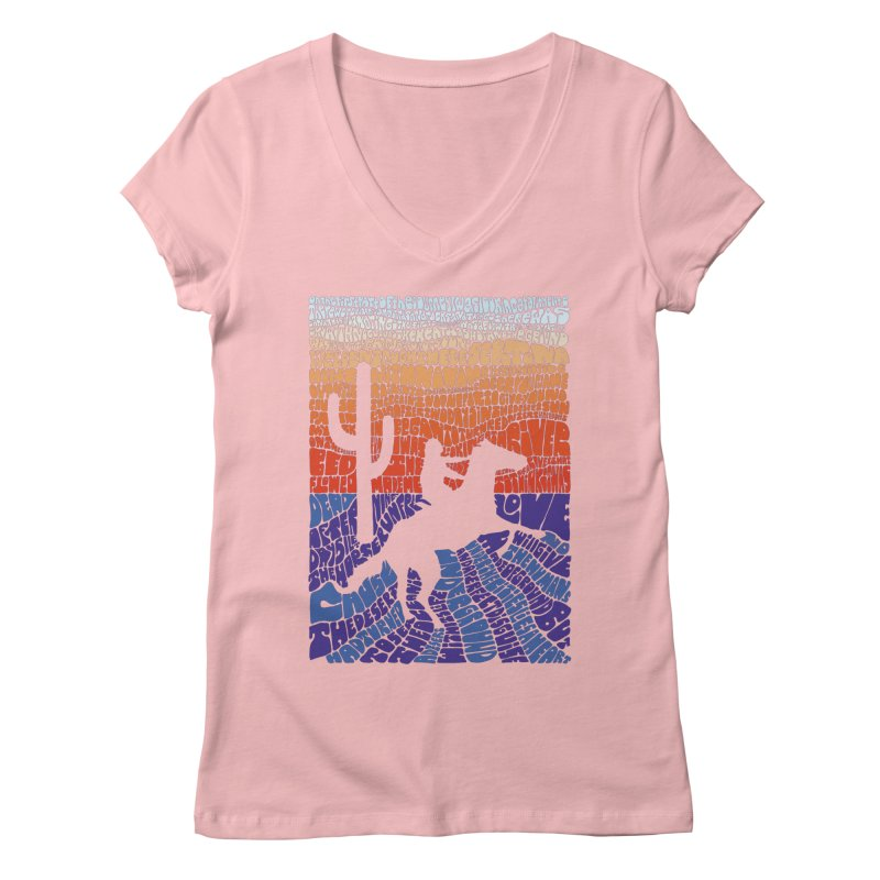 A Horse with No Name Women's V-Neck by mymadtshirt's Artist Shop