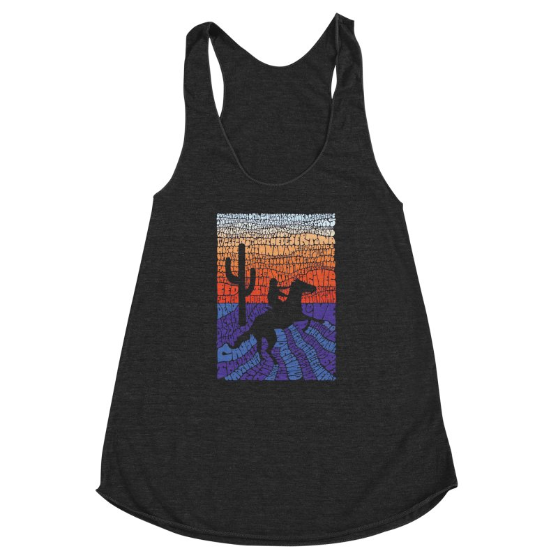 A Horse with No Name Women's Racerback Triblend Tank by mymadtshirt's Artist Shop