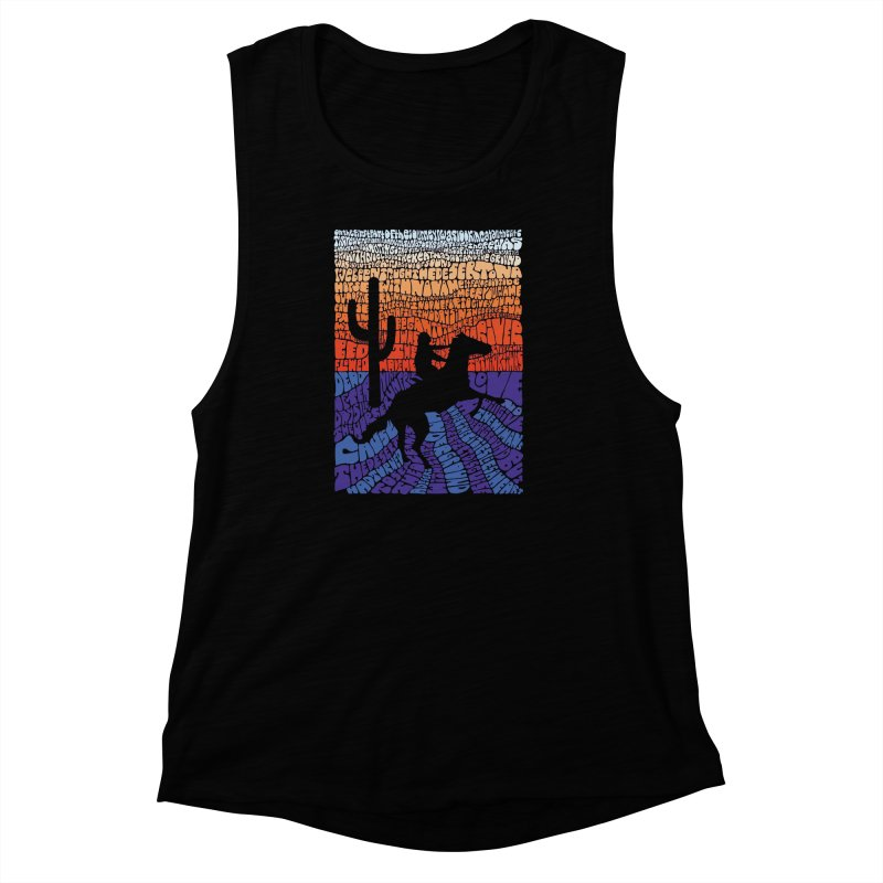 A Horse with No Name Women's Muscle Tank by mymadtshirt's Artist Shop