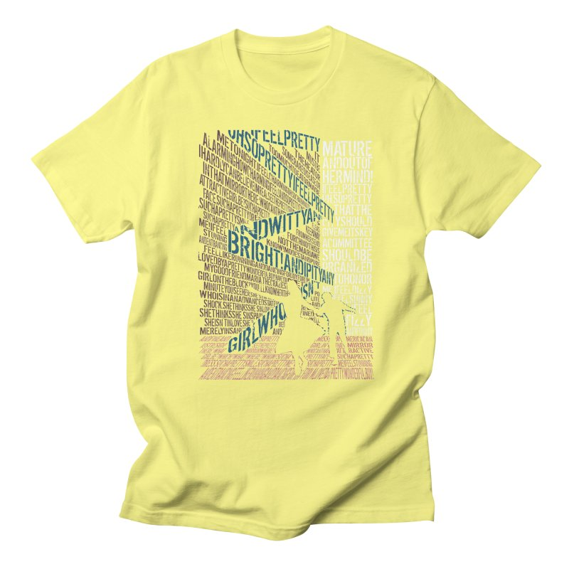 I feel pretty Men's T-Shirt by mymadtshirt's Artist Shop