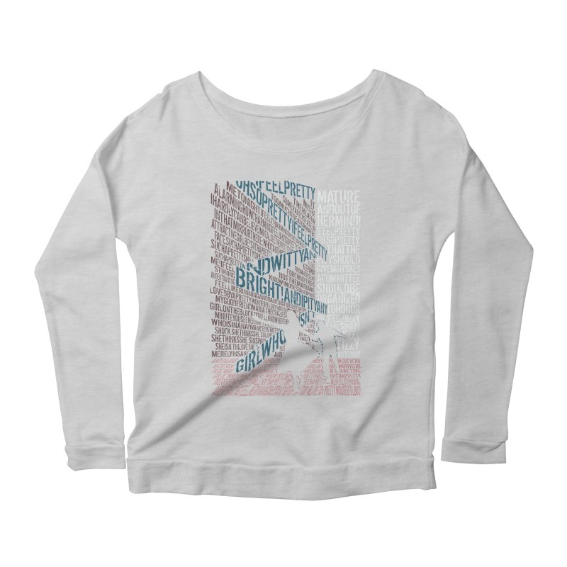 I feel pretty Women's Longsleeve Scoopneck  by mymadtshirt's Artist Shop