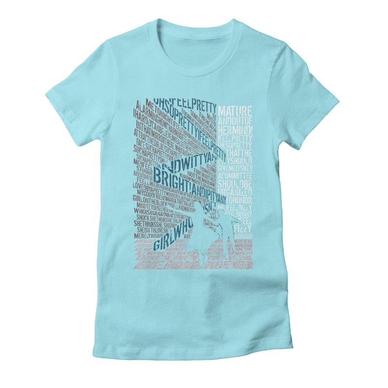 I feel pretty Women's Fitted T-Shirt by mymadtshirt's Artist Shop