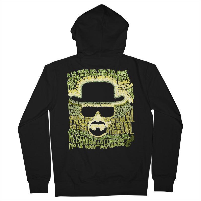 Narcocorrido Heisenberg Men's Zip-Up Hoody by mymadtshirt's Artist Shop