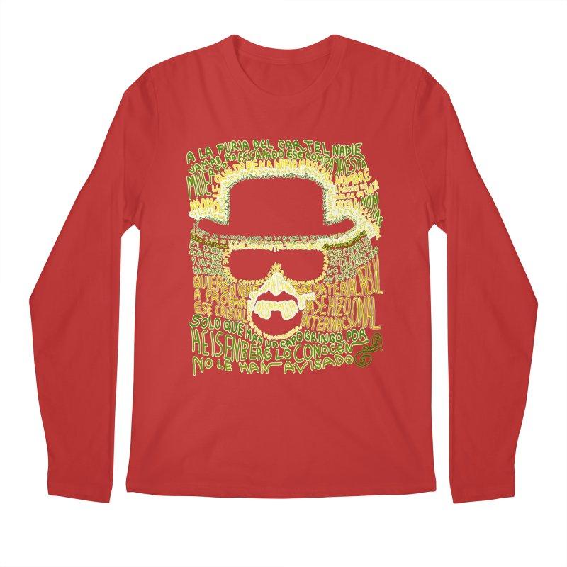 Narcocorrido Heisenberg Men's Longsleeve T-Shirt by mymadtshirt's Artist Shop