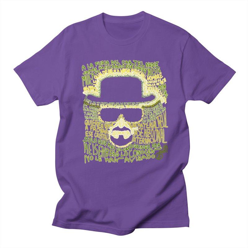Narcocorrido Heisenberg Men's T-Shirt by mymadtshirt's Artist Shop