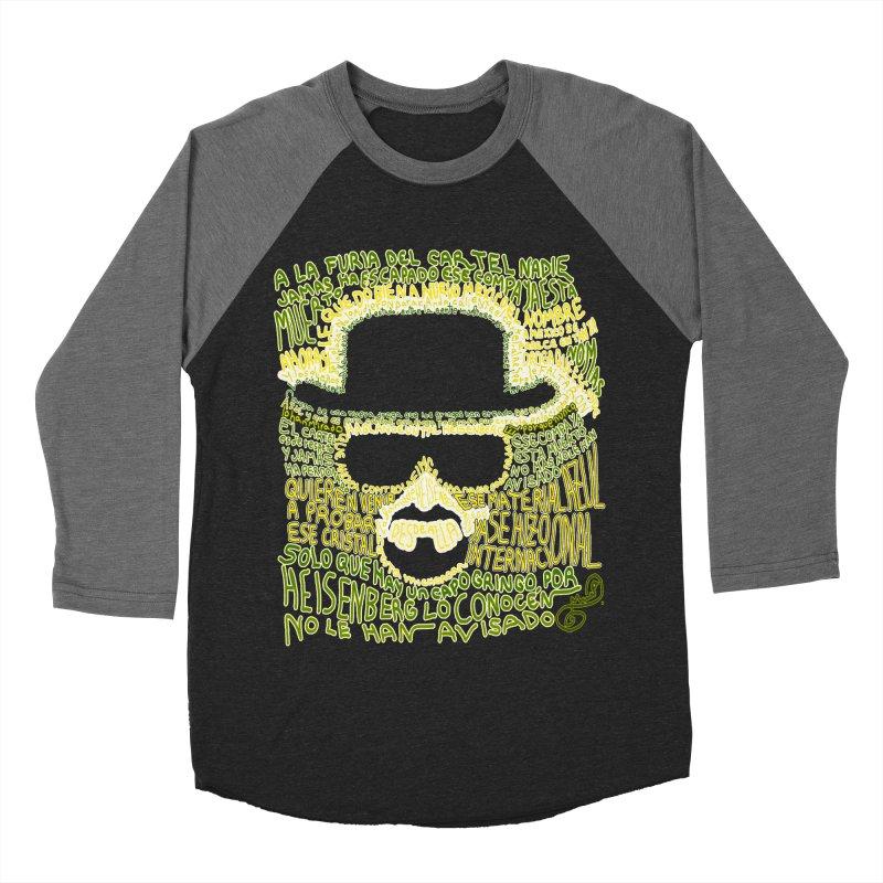 Narcocorrido Heisenberg Men's Baseball Triblend T-Shirt by mymadtshirt's Artist Shop