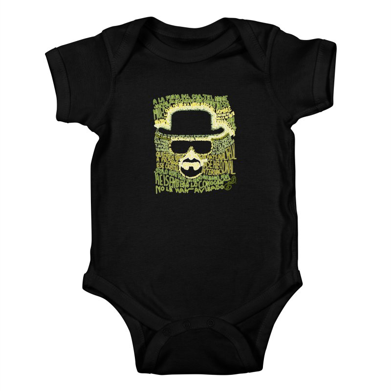 Narcocorrido Heisenberg Kids Baby Bodysuit by mymadtshirt's Artist Shop