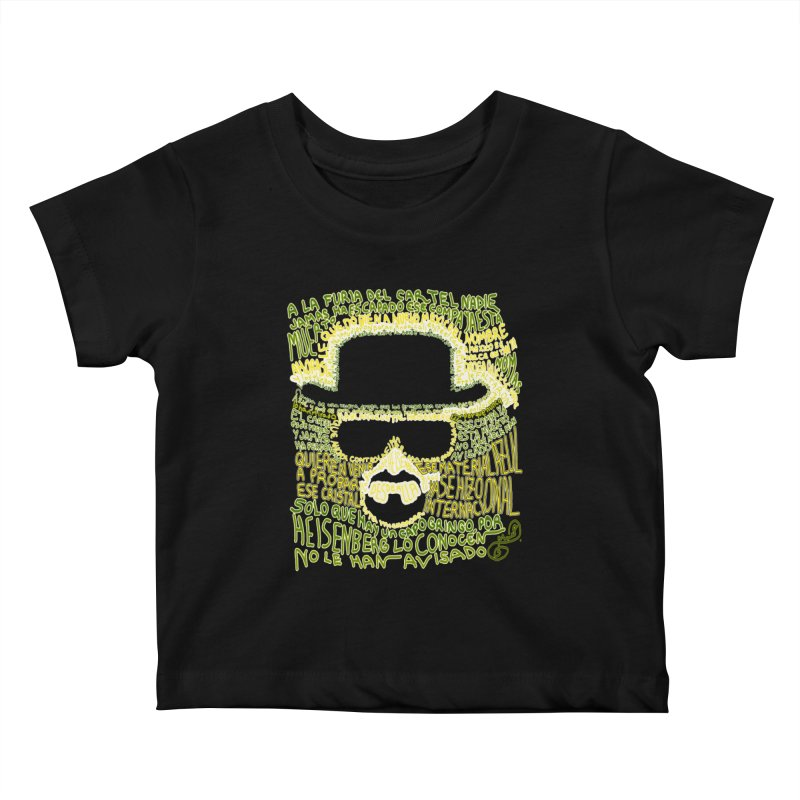 Narcocorrido Heisenberg Kids Baby T-Shirt by mymadtshirt's Artist Shop