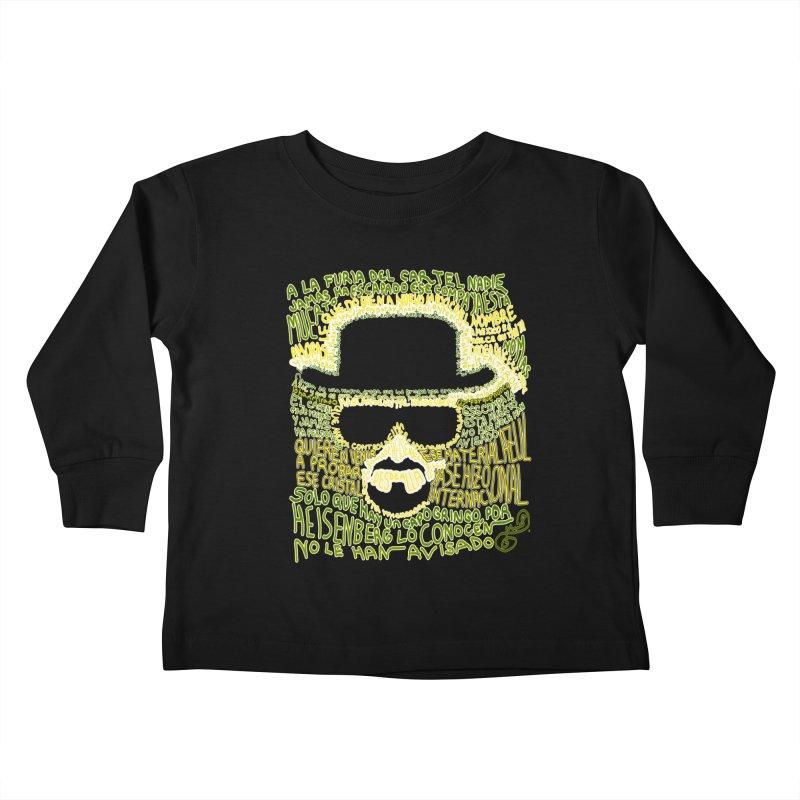 Narcocorrido Heisenberg Kids Toddler Longsleeve T-Shirt by mymadtshirt's Artist Shop