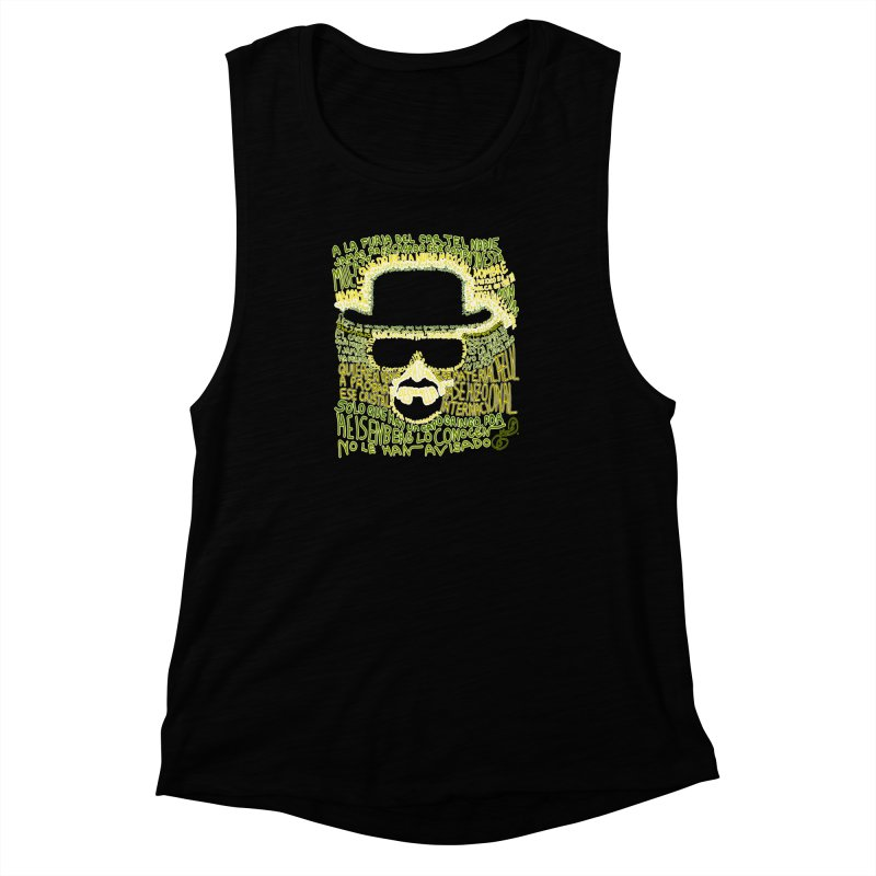 Narcocorrido Heisenberg Women's Muscle Tank by mymadtshirt's Artist Shop