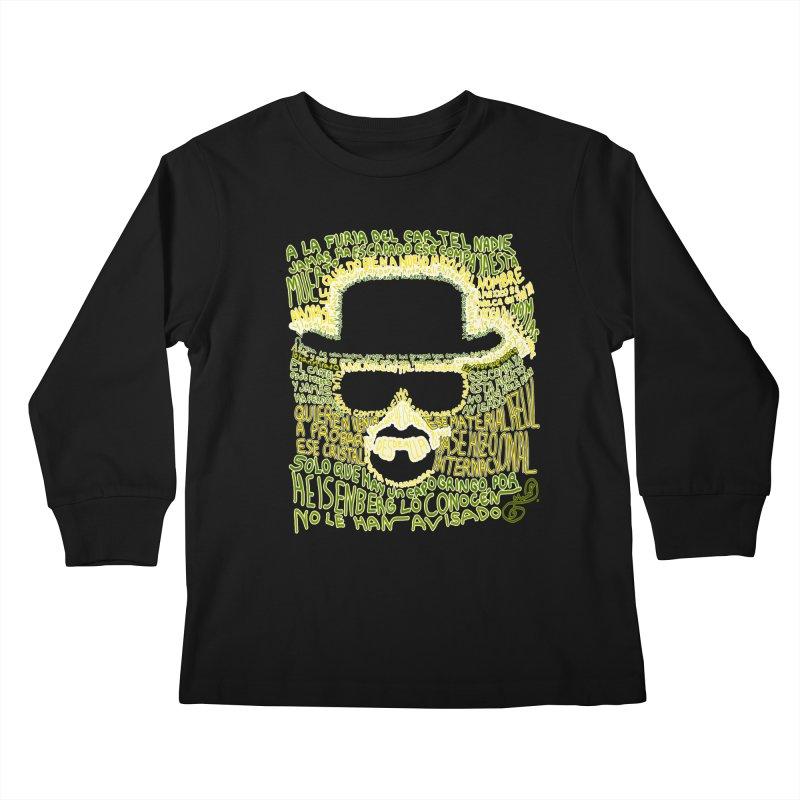 Narcocorrido Heisenberg Kids Longsleeve T-Shirt by mymadtshirt's Artist Shop
