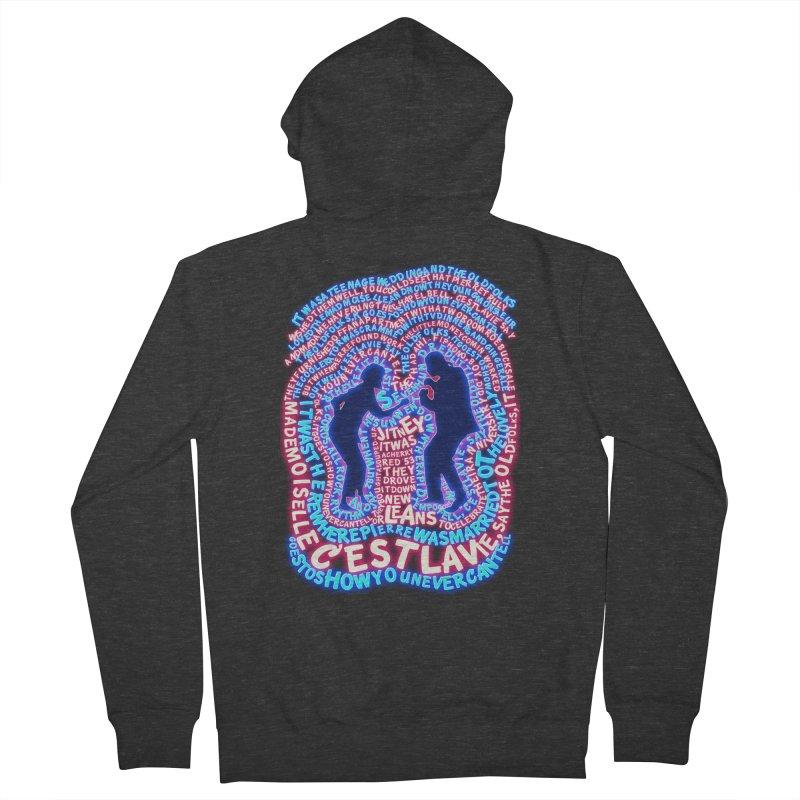 Pulp Fiction t shirt Men's Zip-Up Hoody by mymadtshirt's Artist Shop