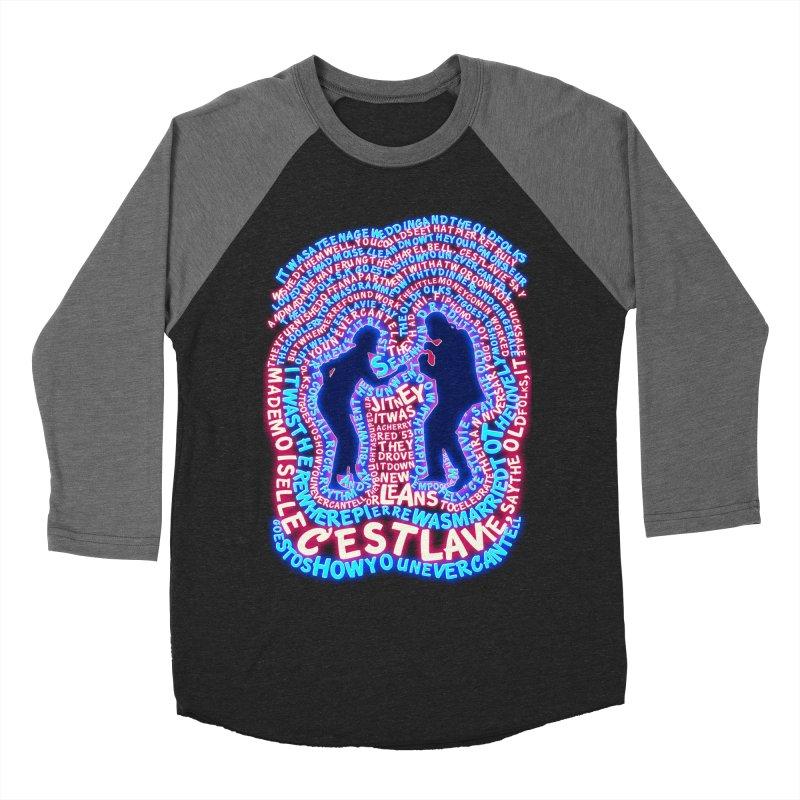 Pulp Fiction t shirt Men's Baseball Triblend T-Shirt by mymadtshirt's Artist Shop