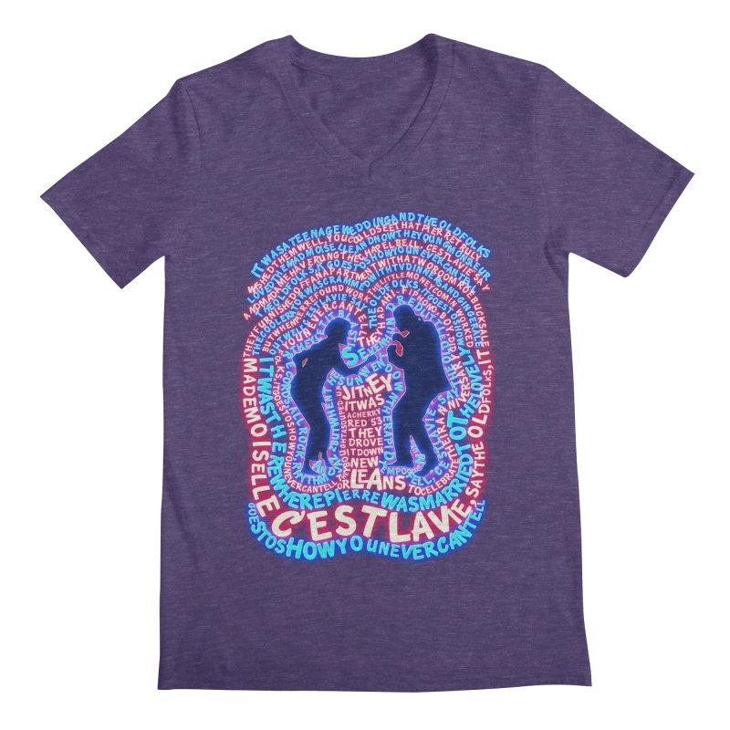 Pulp Fiction t shirt Men's V-Neck by mymadtshirt's Artist Shop