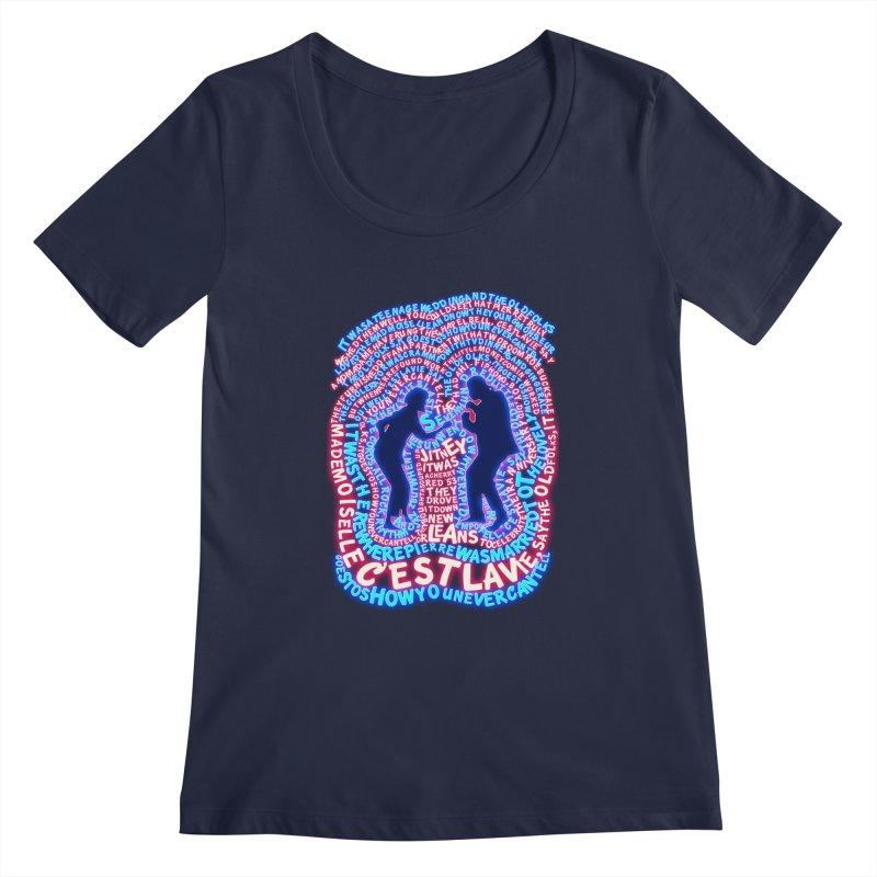 Pulp Fiction t shirt Women's Scoopneck by mymadtshirt's Artist Shop