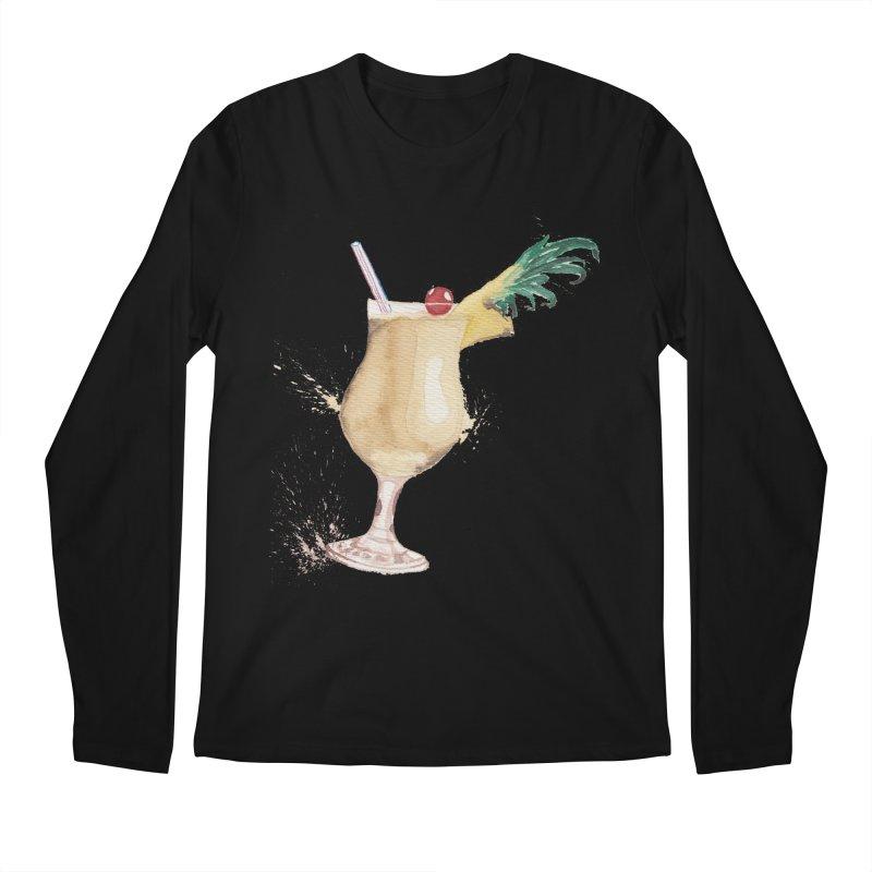 Piña Colada Men's Longsleeve T-Shirt by mymadtshirt's Artist Shop