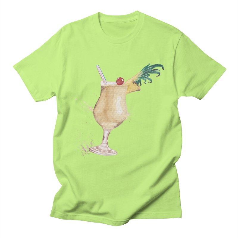 Piña Colada Men's T-shirt by mymadtshirt's Artist Shop