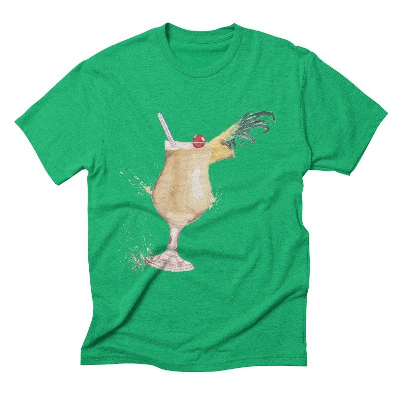 Piña Colada Men's Triblend T-Shirt by mymadtshirt's Artist Shop