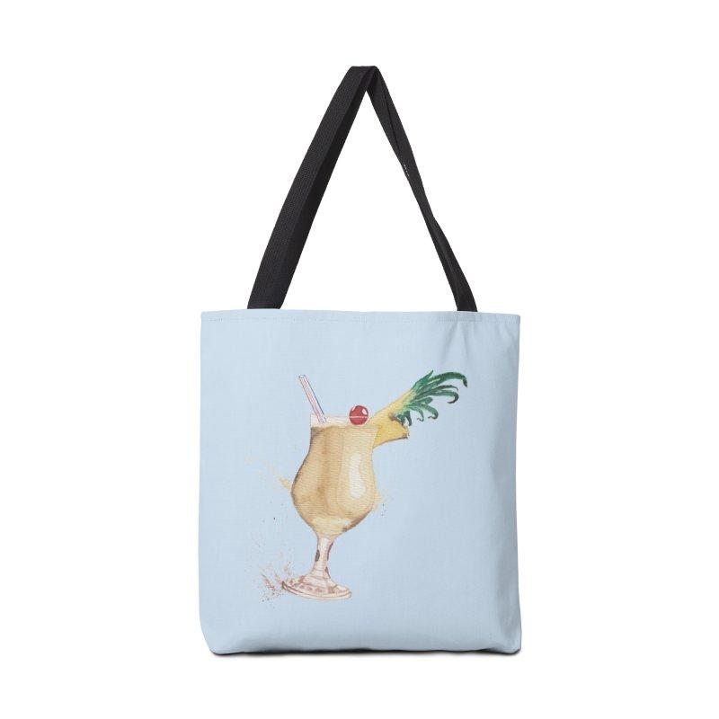 Piña Colada Accessories Bag by mymadtshirt's Artist Shop