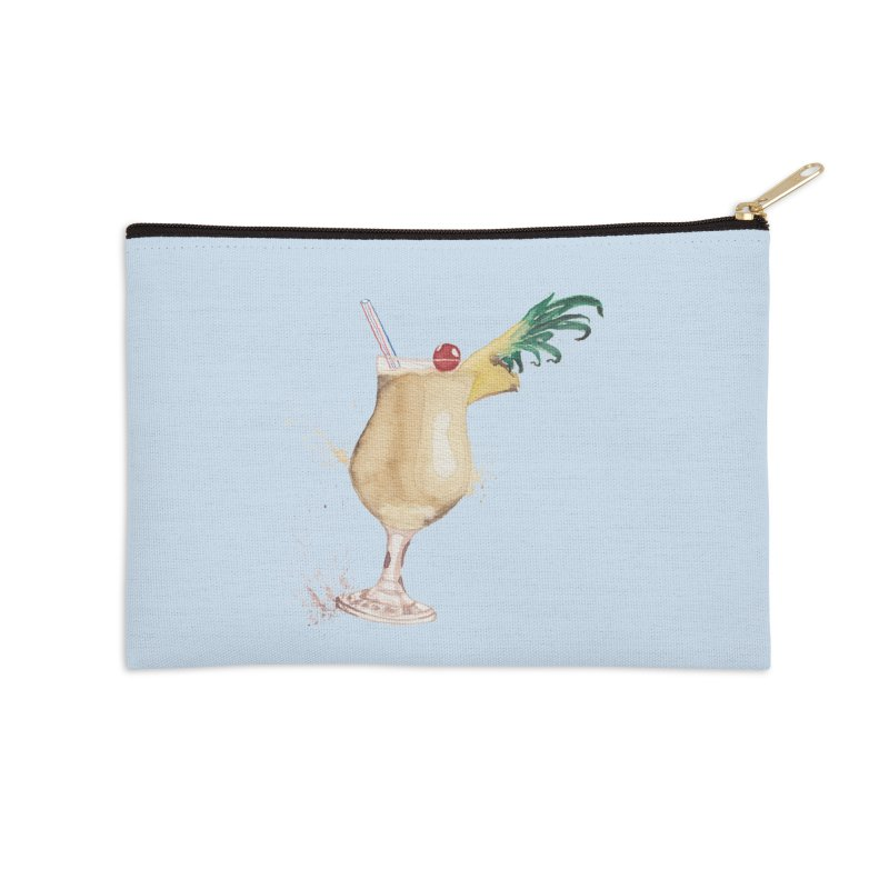 Piña Colada Accessories Zip Pouch by mymadtshirt's Artist Shop