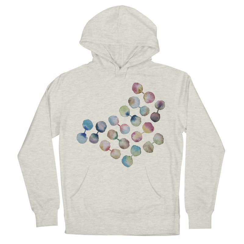 Experiment in Women's Pullover Hoody Heather Oatmeal by mymadtshirt's Artist Shop