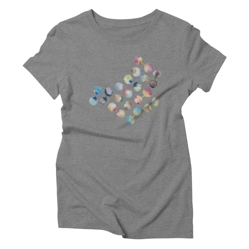 Experiment Women's Triblend T-Shirt by mymadtshirt's Artist Shop