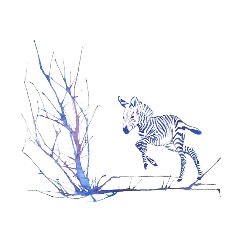 Zebra by mymadtshirt's Artist Shop