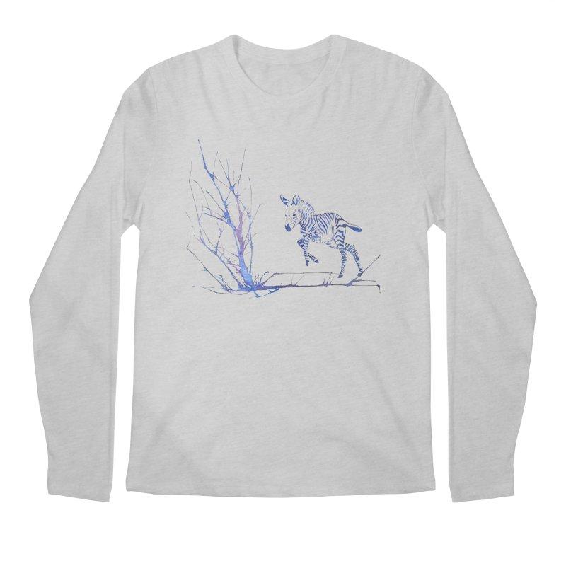 Zebra Men's Longsleeve T-Shirt by mymadtshirt's Artist Shop