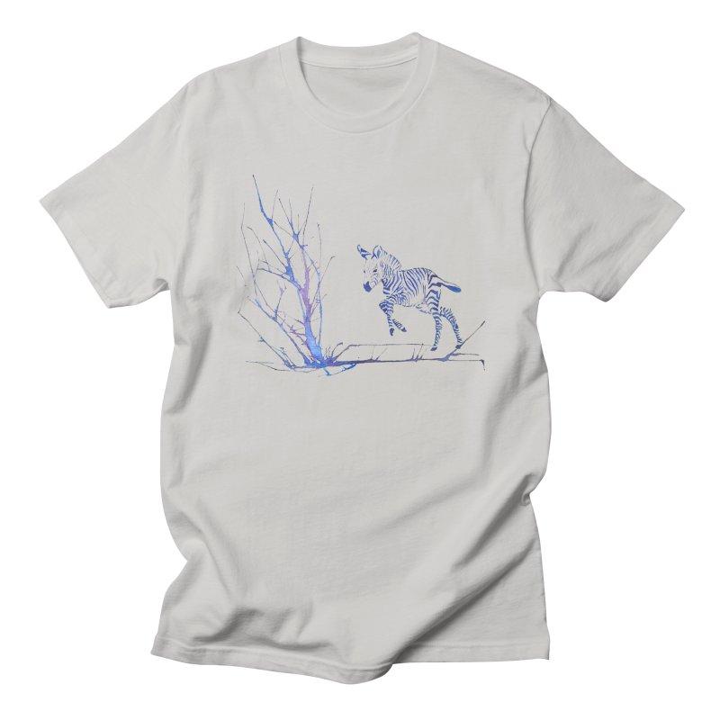 Zebra Men's T-Shirt by mymadtshirt's Artist Shop