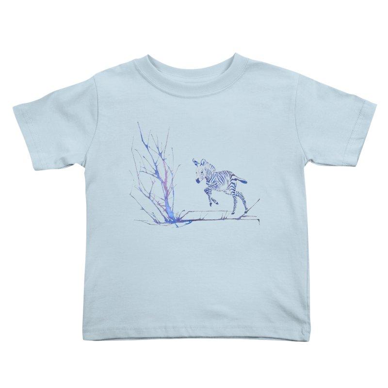 Zebra Kids Toddler T-Shirt by mymadtshirt's Artist Shop
