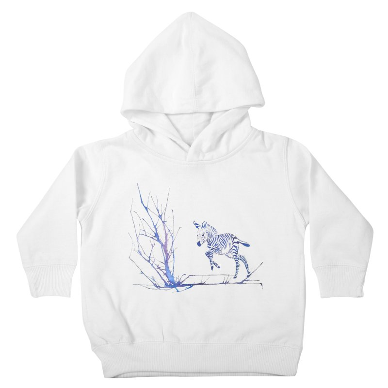 Zebra Kids Toddler Pullover Hoody by mymadtshirt's Artist Shop