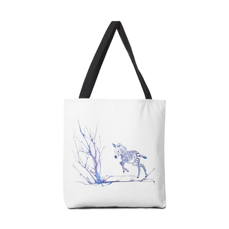 Zebra Accessories Bag by mymadtshirt's Artist Shop