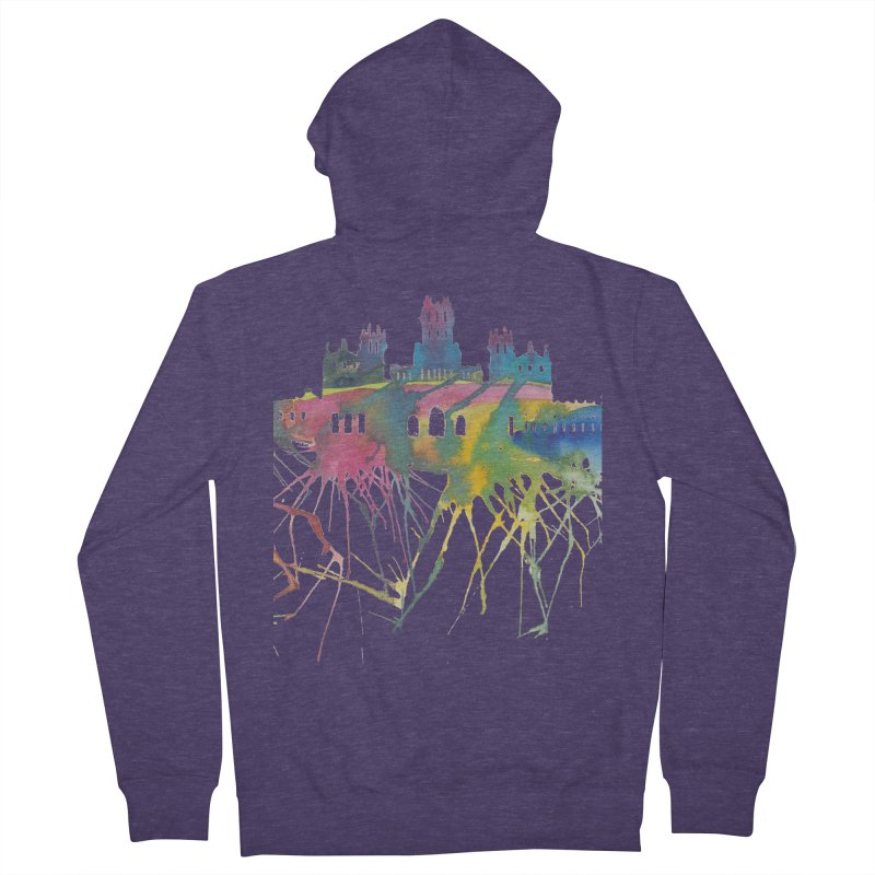 Palacio Cibeles Men's Zip-Up Hoody by mymadtshirt's Artist Shop