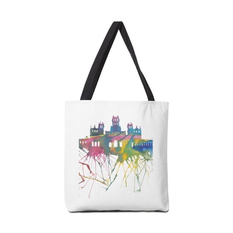 Palacio Cibeles Accessories Bag by mymadtshirt's Artist Shop