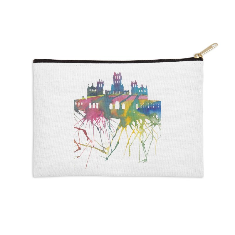Palacio Cibeles Accessories Zip Pouch by mymadtshirt's Artist Shop