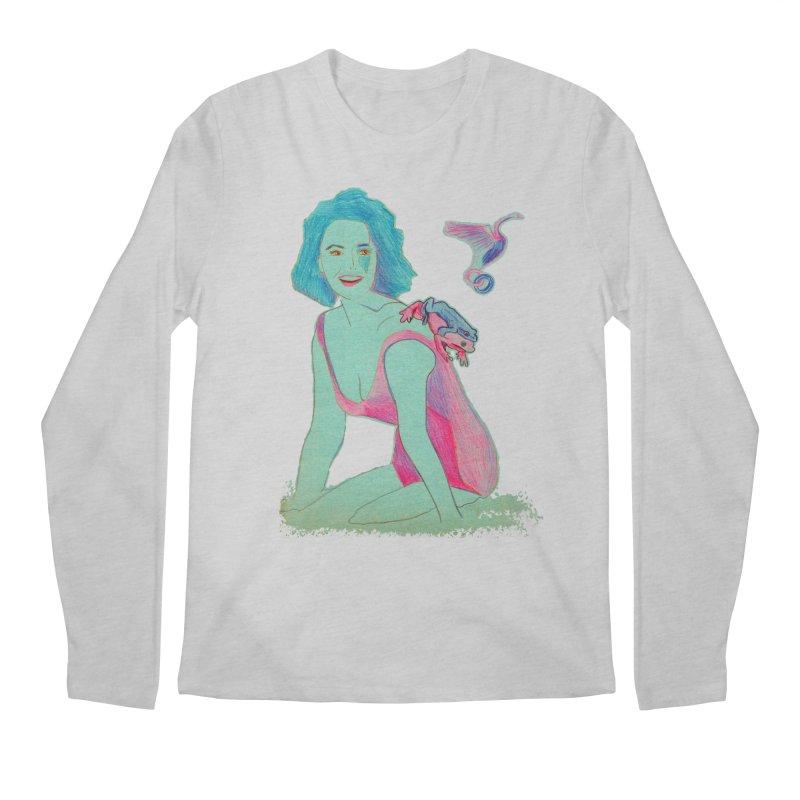 Liz y los sapos Men's Longsleeve T-Shirt by mymadtshirt's Artist Shop
